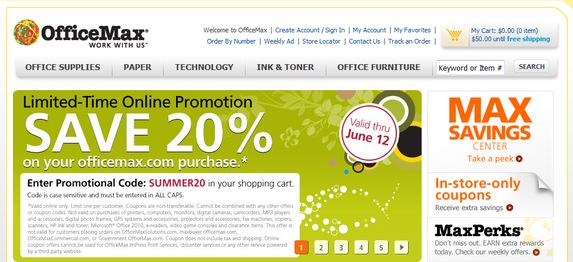 Office Max Coupons Printable 2014 Coupons From Office Max